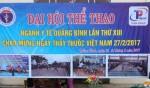 Đại hội thể thao ngành y tế Quảng Bình lần thứ XIII