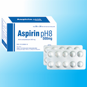 Aspirin pH8 500mg